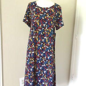 LuLaRoe Carly dress size Large